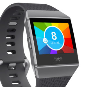 Fitbit display