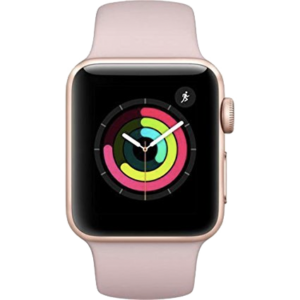 Apple Watch 3 roze